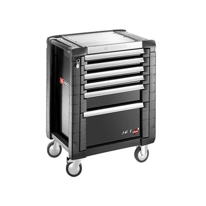 Facom Jet.6GM3 Roller Cabinet 6 Drawer Black