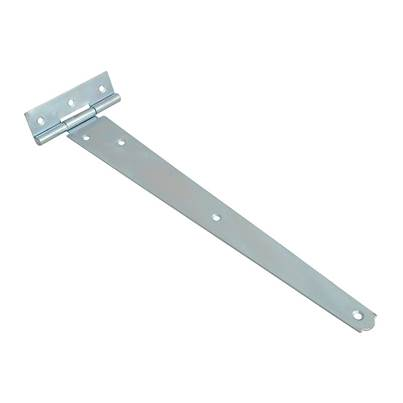 Forge Tee Hinges, Zinc Plated