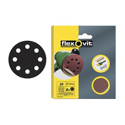 Flexovit Hook & Loop Sanding Discs 115mm