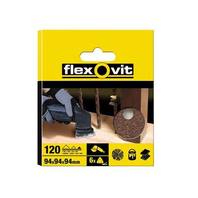 Flexovit Delta Hook & Loop Sheets 94 mm