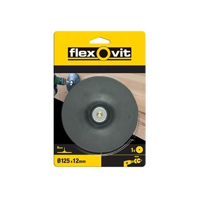 Flexovit Backing Pad For Drill Mount 125mm