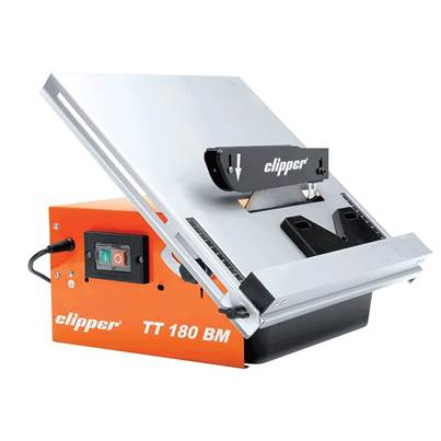 Flexovit TT180BM Water Cooled Pro Tile Cutter in Carry Case 550 Watt 240 Volt