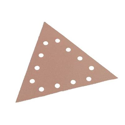 Flex Power Tools Sanding Paper - Hook & Loop Backing Triangle
