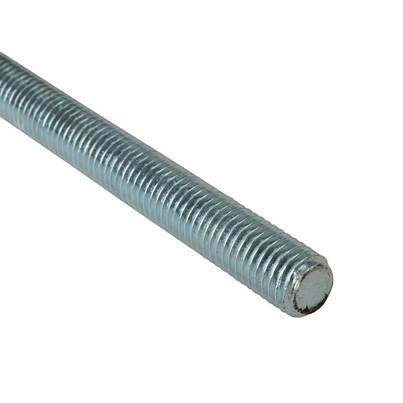 ForgeFix Threaded Rods, Mild Steel, ZP
