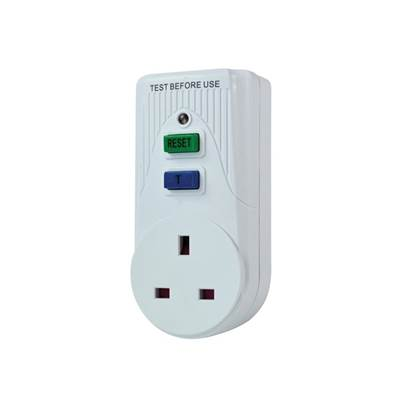 Faithfull Power Plus RCD Adaptor (Circuit Breaker)