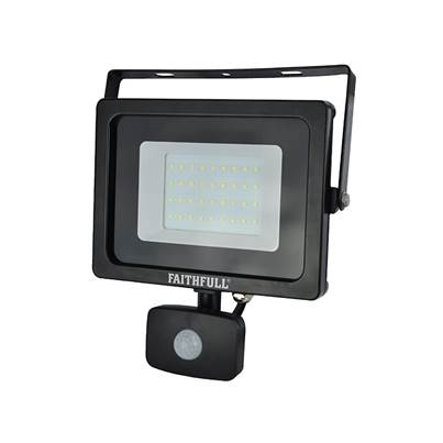 Faithfull Power Plus SMD LED Security Light with PIR