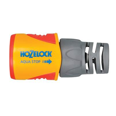 Hozelock 2055 AquaStop Plus Hose Connector for Ø12.5-15mm (1/2-5/8in) Hose