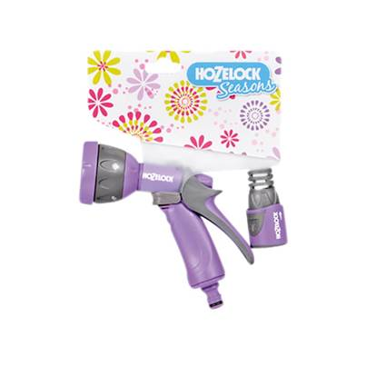 Hozelock Seasons Multispray Gun & Fitting Purple