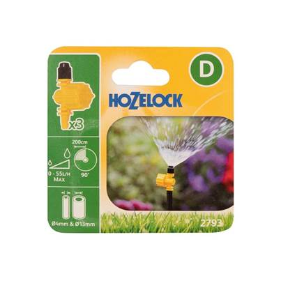Hozelock Adjustable Micro Jet 4mm/13mm
