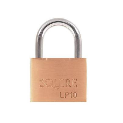 Henry Squire Leopard Solid Brass Padlocks
