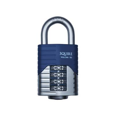Henry Squire Vulcan Boron Shackle Combination Padlock