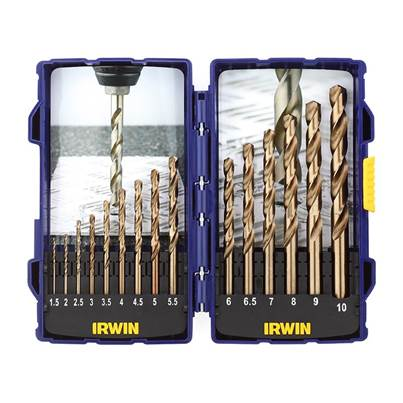 IRWIN HSCO Pro Drill Set 15 Piece 1.5-10mm