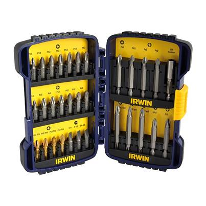 IRWIN® Pro Screwdriver Bit Set 31 Piece