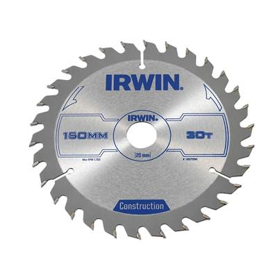 IRWIN® Corded Construction Circular Saw Blade