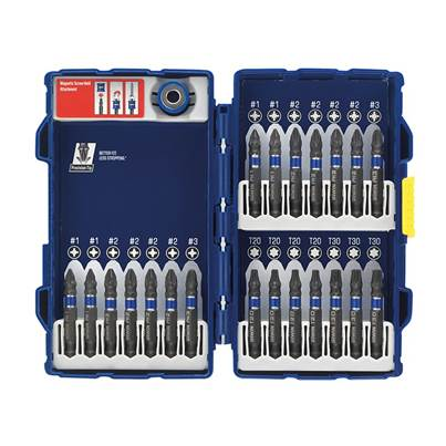 IRWIN Impact Screwdriver Bit Set of 22