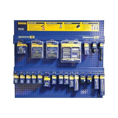 IRWIN Impact Screwdriver Bit Wall Peg Display Deal