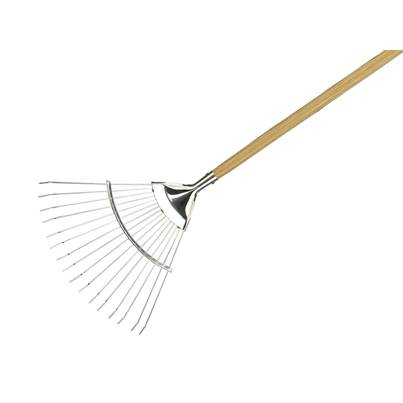 Kent & Stowe Long Handled Lawn and Leaf Rakes
