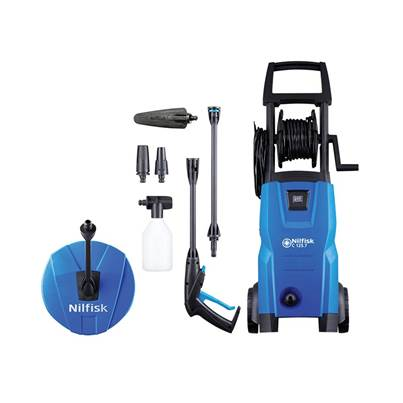 Kew Nilfisk Alto C125.7-6 PCA X-TRA Pressure Washer with Patio Cleaner & Brush 125 bar 240V