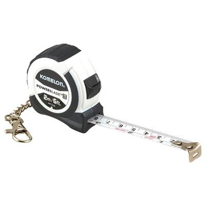 Komelon PowerBlade™ II Pocket Key Ring Tape 2m (Width 13mm) (Metric only)