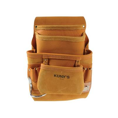 Kuny's AP-i933 Carpenter's Nail & Tool Bag 10 Pocket