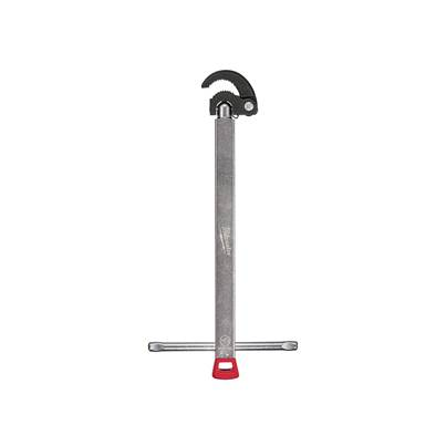 Milwaukee Hand Tools Adjustable Basin Wrench