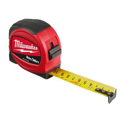 Milwaukee Hand Tools Slimline Tape Measure