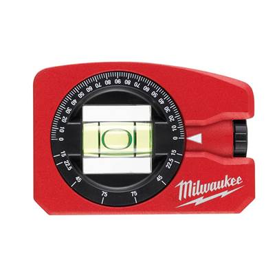 Milwaukee Hand Tools Magnetic Pocket Level 7.8cm