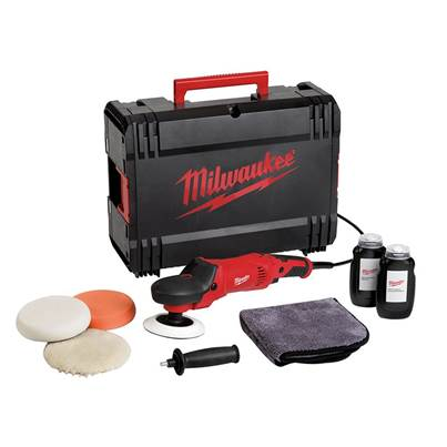 Milwaukee AP 14-2 200ESET Polisher Set 200mm 1450W 240V