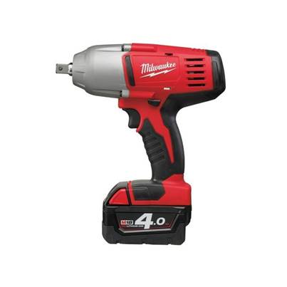 Milwaukee HD18 HIWF-402 Friction Ring 1/2in Impact Wrench 18V 2 x 4.0Ah Li-Ion