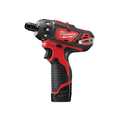 Milwaukee Power Tools M12 BD-202C Sub Compact Driver 12V 2 x 2.0Ah Li-Ion