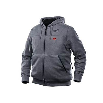 Milwaukee M12 Grey Heated Hoody