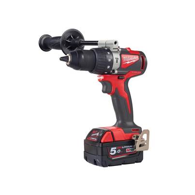 Milwaukee Power Tools M18 BLPD2-502X Brushless Percussion Drill 18V 2 x 5.0Ah Li-ion