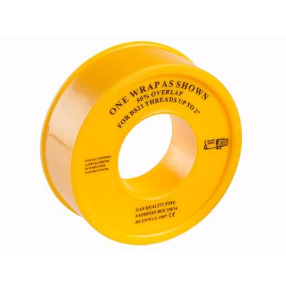 Miscellaneous Gas PTFE Tape 12mm x 5m