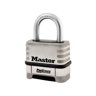 Master Lock ProSeries® Stainless Steel 4 Digit Padlock 57mm