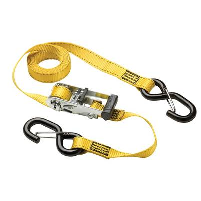 Master Lock Ratchet Tie-Downs S-Hooks 3m 2 Piece