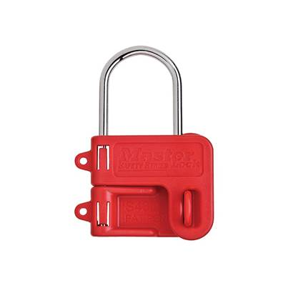 Master Lock Two Padlock Lockout Hasp - 4mm Shackle