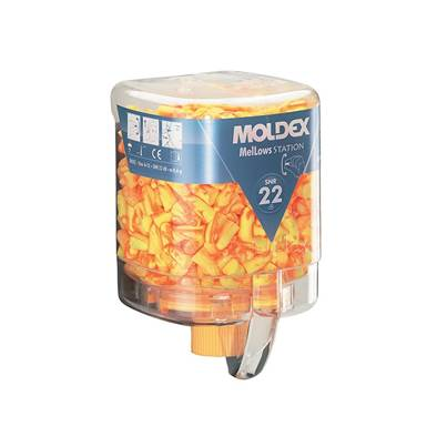 Moldex Disposable Foam Earplugs Mellows Station (250 Pairs) SNR 22 dB