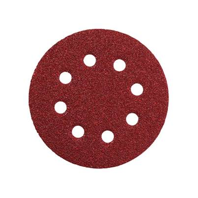 Metabo Hook & Loop Sanding Discs 125mm Assorted (Pack 25)