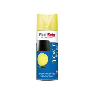 PlastiKote Glow In The Dark Spray Paint 400ml