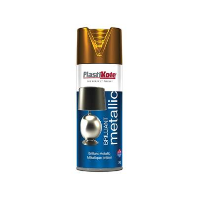 PlastiKote Brilliant Metallic Aerosol