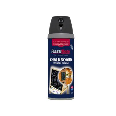PlastiKote Twist & Spray Chalkboard Paint Black 400ml