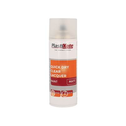 PlastiKote Trade Quick Dry Clear Lacquer Spray