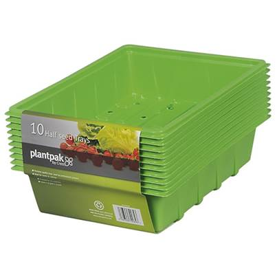 Plantpak Half Seed Tray (24 x Packs of 10)