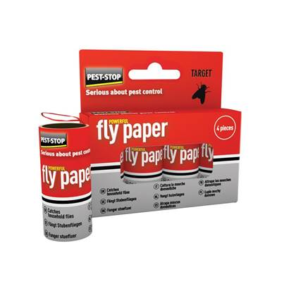 Pest-Stop Systems Fly Papers Pack of 4