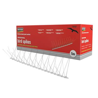 Pest-Stop (Pelsis Group) Professional Bird Spikes 50cm Metal Strips (Pack 10)
