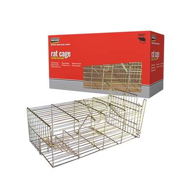 Pest-Stop (Pelsis Group) Rat Cage Trap 14in
