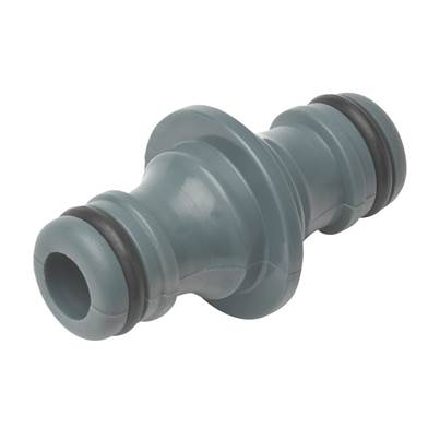Rehau Double Male Connector 12.5mm (1/2in)