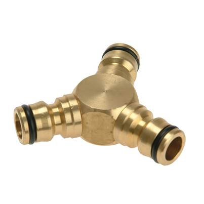 Rehau Brass Y-Connector 12.5mm (1/2in)