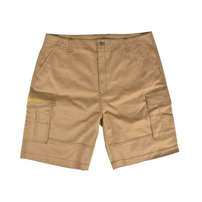 Roughneck Clothing Work Shorts Khaki