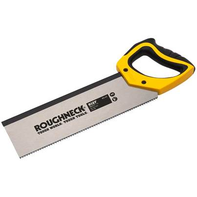 Roughneck R12F Hardpoint Tenon Saw 300mm (12in) 11tpi